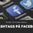 En kort guide til hvordan du skal anvende hashtags på Facebook