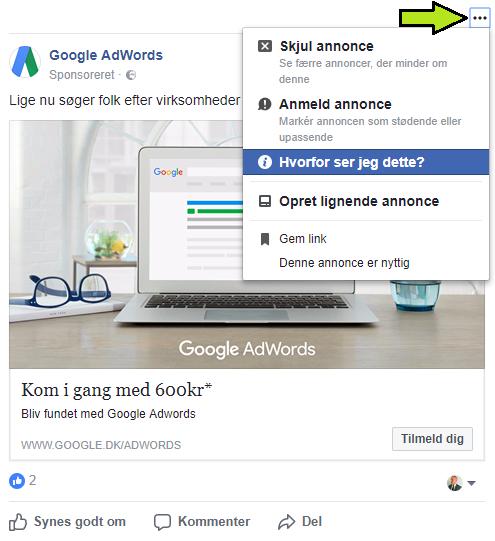 ef8eb72d857 GUIDE: Derfor rammes du af underlige annoncer på Facebook